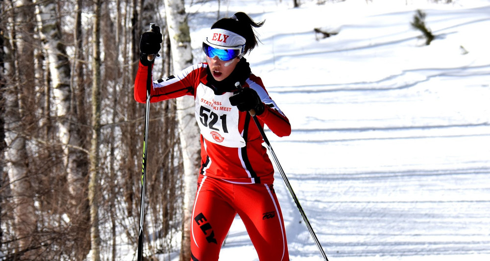 In just her third season in the sport, Ely senior Caroline Homer quickly developed into one of the Wolves' top skiers, culminating in Thursday's team title.