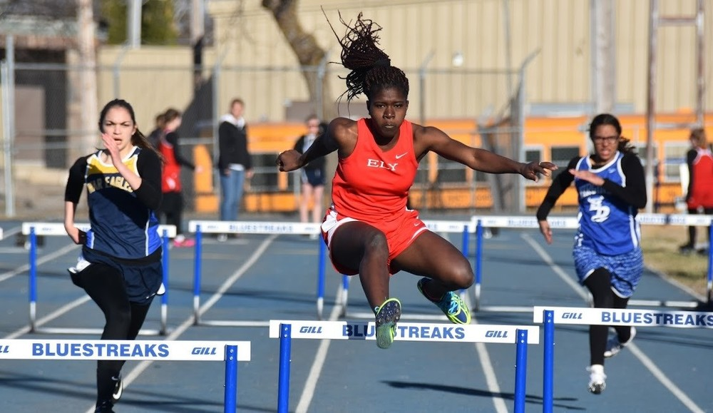 In just her second season, Ely senior standout Maggie Isbell has added another event this spring in the 100-meter hurdles. Isbell notched wins in the 300 hurdles in the Wolves' opening two meets.