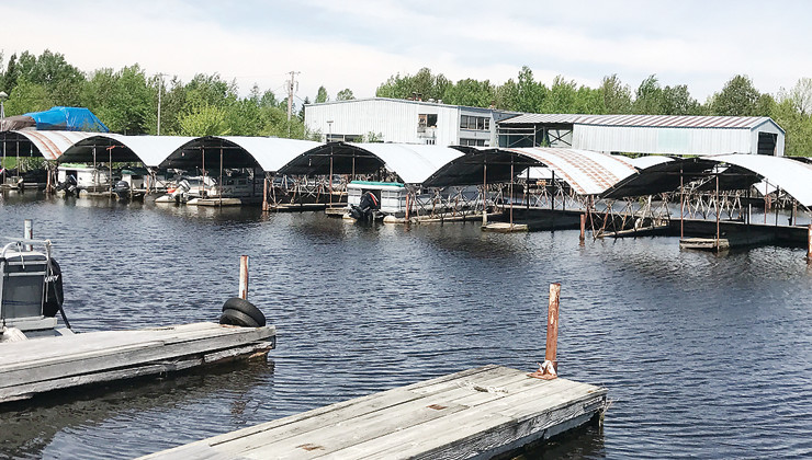The Standing Bear Marina near Tower's harbor is now under new ownership.