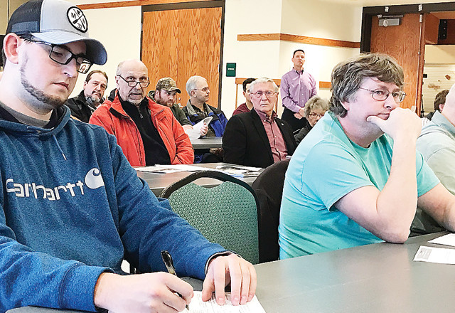 Iron Rangers attended a public hearing Tuesday night to sound off about a variance request for the Minntac tailings basin.
