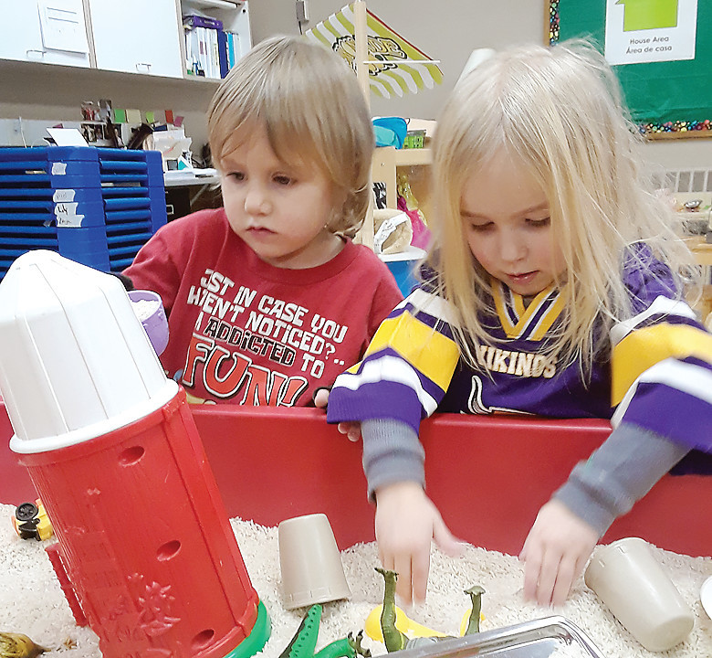 A stimulating environment, such as that found in a    licensed childcare center, can contribute significantly to a child's development.