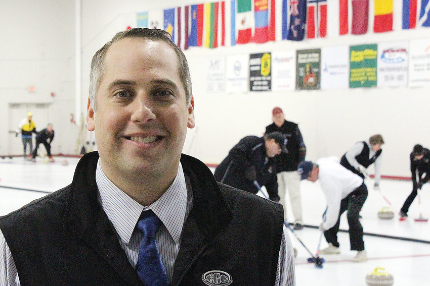 Phill Drobnick stopped by Curl Mesabi, in Eveleth, last week to talk about his favorite sport.