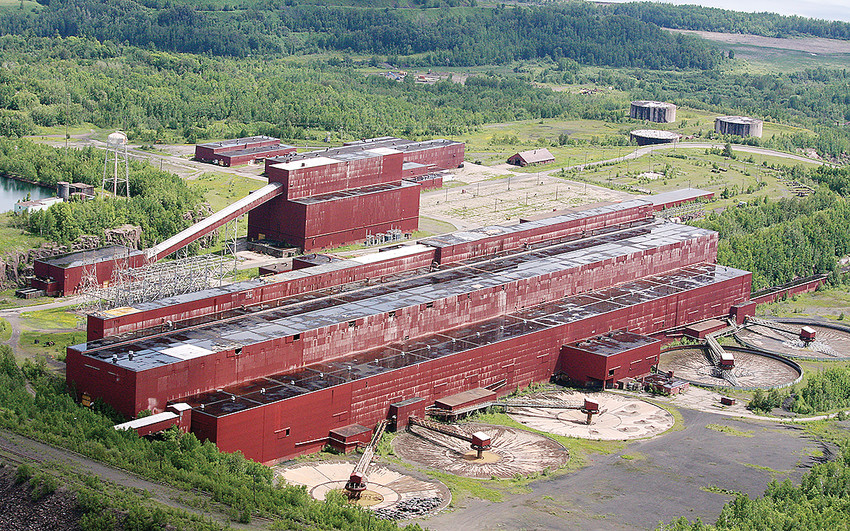 The former LTV Mining processing plant, now owned by PolyMet, will be renovated as part of the NorthMet mine project.