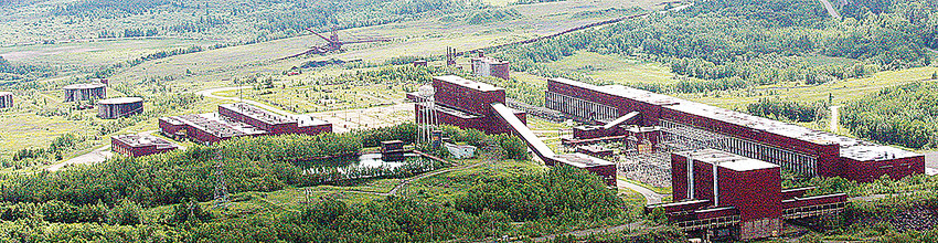 The proposed PolyMet processing plant near Hoyt Lakes.