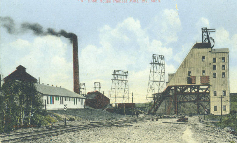 The Pioneer Mine in Ely, the city's last iron ore mine operation, shut down in 1967.