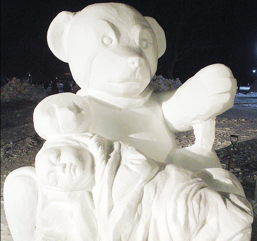 Snow sculptures will again be among the highlights of the Ely Winter Festival, which runs Feb. 7-17.