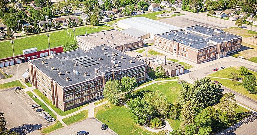 The Ely Public Schools campus.