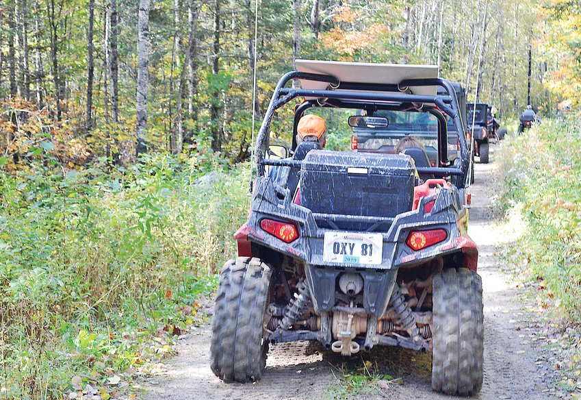 Eagles Nest Township has banned ATVs like these from using a township road.