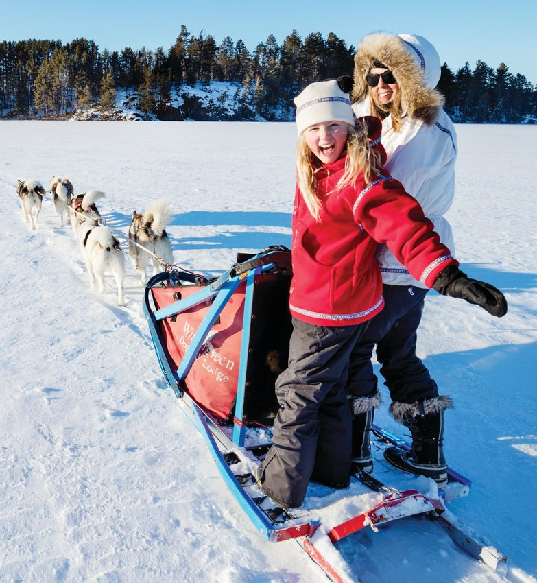 Ely Folk School's holiday party will feature dogsled rides for kids and adults, a warming bonfire and pool-noodle broomball on Shagawa Lake.