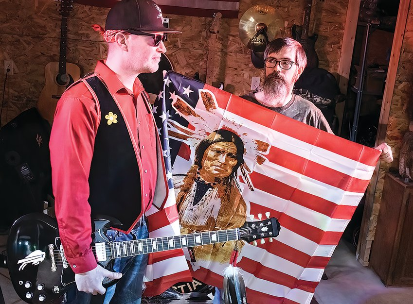 """Chaz Wagner and Tony Parson, of War Bonnet, are following up their successful 2019 album, """"The Ghost Dance,"""" with a second CD, """"Ancestral Legacy,"""" on Nov. 27."""