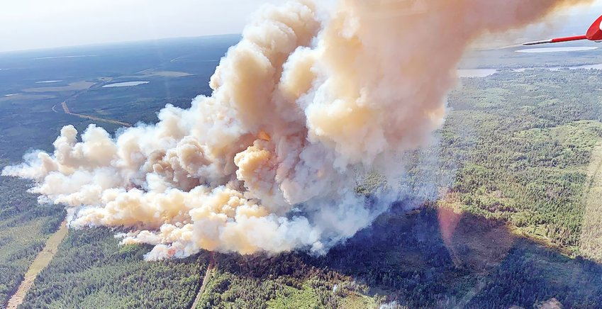 The Forest Service has closed the entire BWCAW as fire conditions have worsened dramatically in recent days.