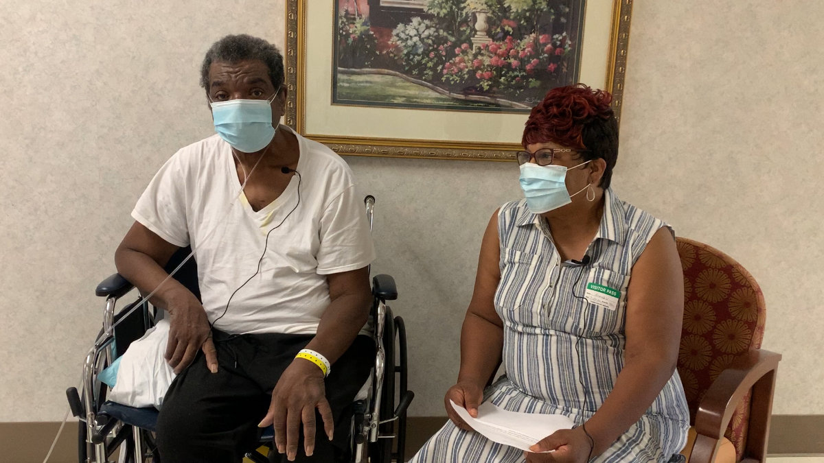 """I thank God that He let me live so I could take care of my wife. My church and my family prayed hard for me to get well. Our faith in God got us through."" – James Linder [#IThankGod]"