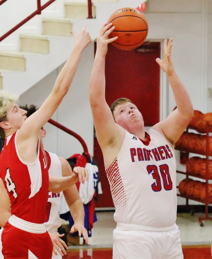 Senior post Jacob Dailey's strong inside play led the Panthers to a win against Lone Oak.