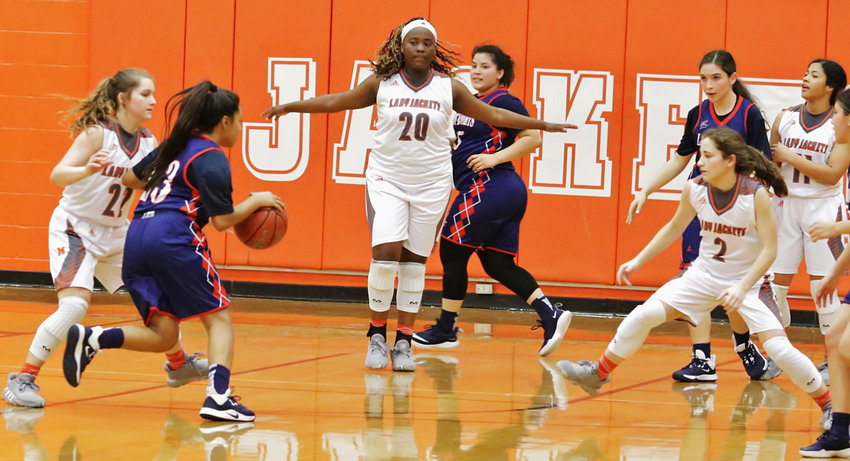 The Lady Jacket defense will be tested in upcoming playoff action.