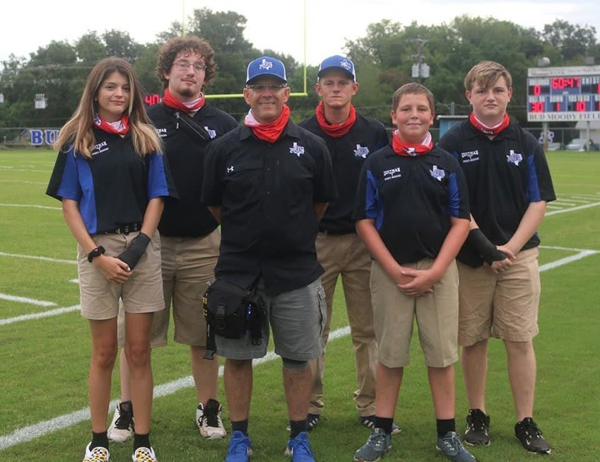 The Quitman High School sports medicine program continues to grow and is always looking for more students interested in the class and work. Students involved this year are (left to right) Gracie Saveera, Brenden Mattox, Scotty Almon, Ethan Phillips, Austin James and Blaze Spann.