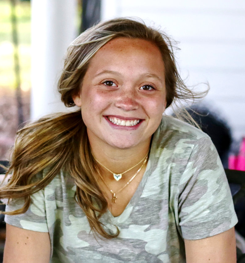 Mineola junior Riley Weekly has competed on the high school soccer team as its only female member.
