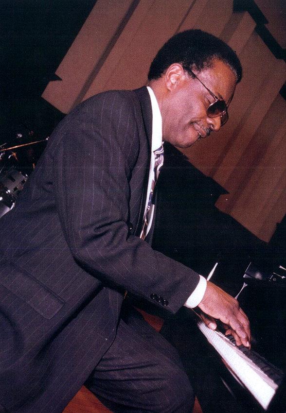 James Tatum at the piano.